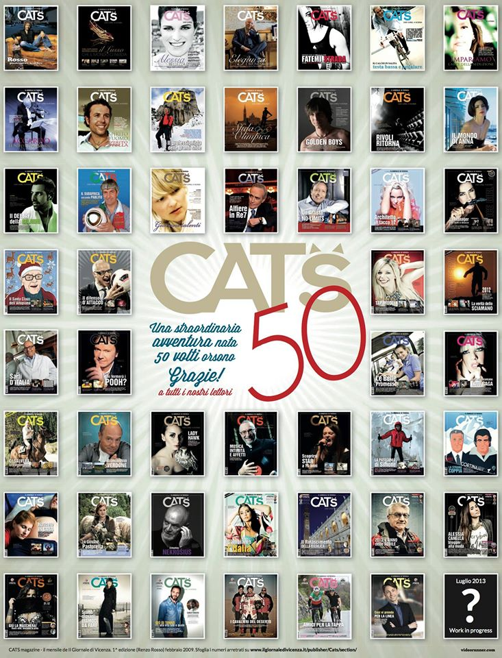 CATS 50 copertine